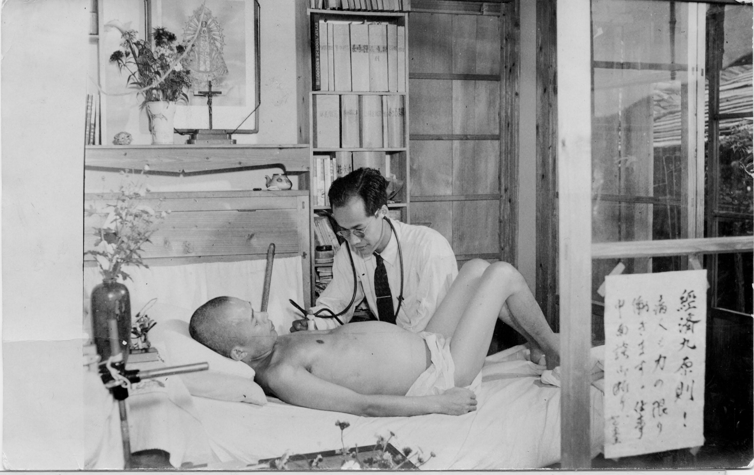 博士は自らの身体を被爆医療に捧げた。